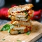 Chicken Parmesan Grilled Cheese  - Sandwiches