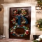 Christmas wreath for outside door - Christmas