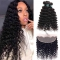 Deep Wave 3 Bundles With Frontal Brazilian Human Hair - Hairstyles
