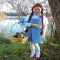 Dorothy & Toto Costume - Halloween costume ideas for the kids