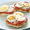 English-Muffin Egg Pizzas - Recipes
