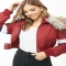 Faux Fur-Trim Padded Jacket - My Style
