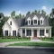 Four Bedroom Open Concept Farmhouse Plan With Wrapped Porch - Country Farmhouse