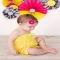Fuschia Felt Baby Headband - For the kids