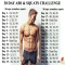 Get washboard abs with the 30 day abs & squats challenge! - Health & Fitness