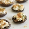 Goat Cheese-Stuffed Mushrooms with Bread Crumbs - Favorite Recipes