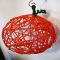 Halloween Yarn Pumpkin Craft - Hallowe'en Ideas