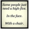 High-Five with a Chair - Funny Stuff