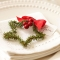 Holiday place setting - Christmas