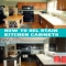 How To Gel Stain Your Kitchen Cabinets - DIY Projects
