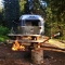 I'll go anywhere in an Airstream - Camping