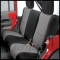 Jeep Seat Covers (rear) - 4x4 Accessories