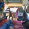 Lay back and relax anywhere - this is Van Life - Van Life