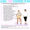 Level Two Exercise Plan - Fitness and Exercise