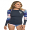 Long Sleeve Rashguard - Roxy Fitness - Beach Livin'