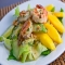 Mango Avocado and Grilled Shrimp Salad - Healthy Lunches