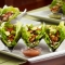 Mediterranean Chicken Lettuce Wrap Tacos - Healthy Eating