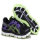 Men's Asics 2032 Black Blue Running Shoes - Unassigned
