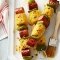 Mustardy Grilled Corn and Sausage Kabobs - Tasty Grub