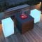 Outdoor LED Light Cube - Outdoor Furniture