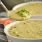 Panera Broccoli & Cheese Soup - Cooking