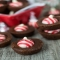Peppermint Kiss Brownie Bites - Christmas Baking