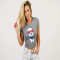 Red, White, & BFM Tee - Comfy Clothes