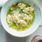 Ricotta Dumplings with Asparagus and Green Garlic - I love to cook