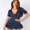Robins Spot Mini Dress Navy - My Summer Fashion