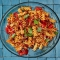 Romesco Pasta Salad with Basil and Parmesan - I love to cook