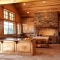 Rustic kitchen with vaulted ceilings - Dream Kitchens