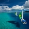Sailing the azzure waters of Tahiti - Dream destinations