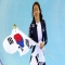 Sang Hwa Lee of South Korea wins Gold in women's 500m speed skating - The Sochi 2014 Winter Olympics