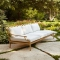 Savannah Collection Sofa - Outdoor Furniture