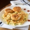 Scallops with Spicy Curry Sauce and Couscous