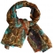 Silk scarf for paisley lovers  - Scarves | digital printed