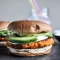Smoky Sweet Potato Burgers with Roasted Garlic Cream and Avocado. - Sweet Potato Recipes