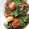 Soy Citrus Scallops with Soba Noodles - Cooking