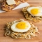 Spiralized Potato Hash Browns with Eggs