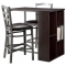Storage Bar with Stools - Home decoration