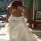 Stunning low back wedding dress - Everything Weddings