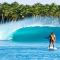 SUP in Paradise [photo] - SUP - Stand Up Paddleboarding