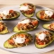 Taco Stuffed Avocados - Cooking