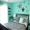 Teal bedroom idea - Home decoration