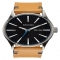 'The Sentry' Leather Strap Watch, 42mm by Nixon - Watches