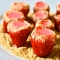 Strawberry Cheesecake Jello Shots - Party Ideas