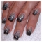 *Black Glitter Nails :) - *My Style :)