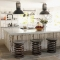 Bar / kitchen stools made from truck springs  - Home Decor Ideas