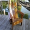Water Ski Adirondack Chair - Outdoor sitting areas