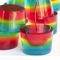 Rainbow Jello Shooters